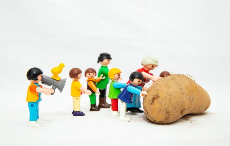 patates et luttes - playmobil